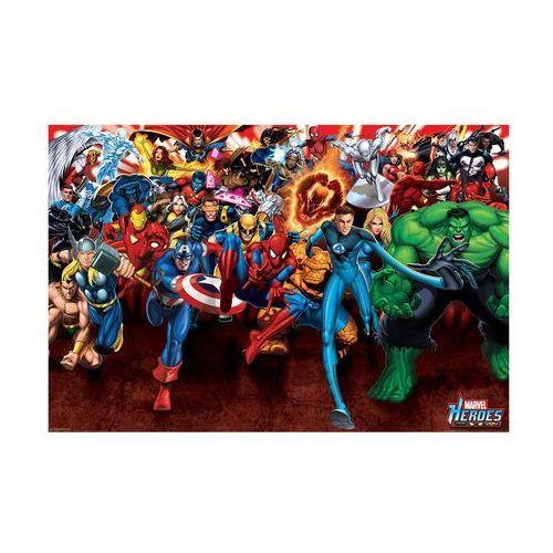 Plakat Maxi MARVEL HEROES - ATTACK (8714597315295)