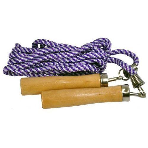 Skakanka bawełniana z drewnianymi uchwytami / dostawa w 12h / gwarancja 24m / negocjuj cenę! marki Allright