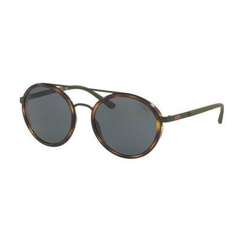 Okulary Słoneczne Polo Ralph Lauren PH3103 COLOR-BLOCKING 900571, kolor żółty