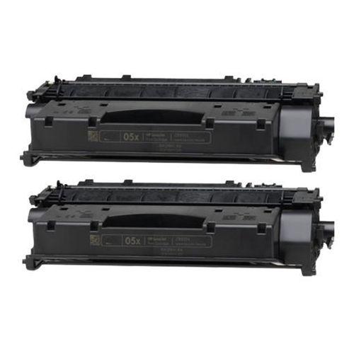 2 x Toner zamiennik HP 05X (CE505X) Czarny