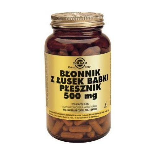 Błonnik z łusek Babki Płesznik 500mg 200 kaps.