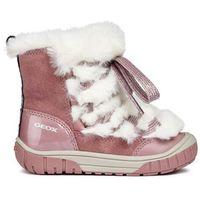 Geox dziewczęce buty zimowe Omar, 27, różowe