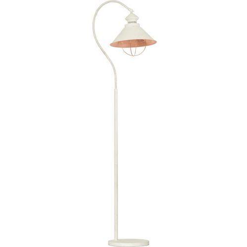 Lampa podłogowa Nowodvorski Loft Antique 5052 I metalowa1x60W E27 ecru, 5052