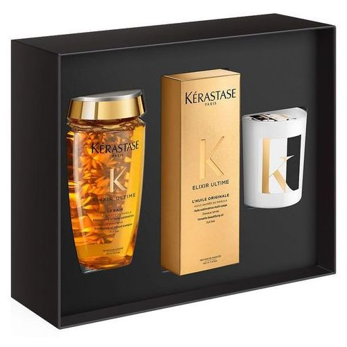 Kerastase elixir ultime box (bain 250ml + l'huile originale 100ml + candle 100g) (box) marki Kérastase