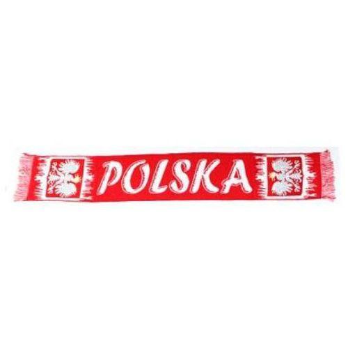 """Godan Szalik kibica """"polska"""" 130 cm biało-czerwony (5901238647379)"""
