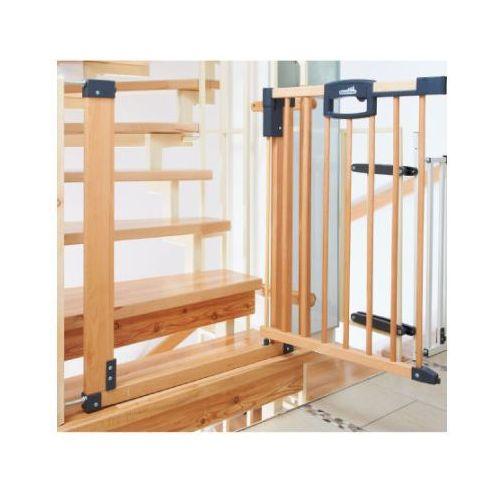 GEUTHER Bramka zabezpieczająca schody Easylock Natur 80,5 - 88,5 cm (2747) (4010221065401)