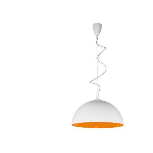 Nowodvorski Hemisphere white-orange fluo l lampa wisząca  6375