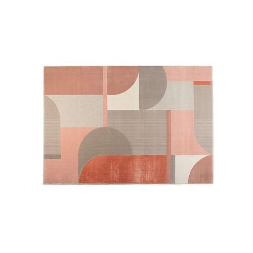 Zuiver dywan hilton 200x290 szaro/różowy 6100002