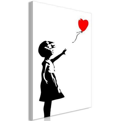 Artgeist Obraz - dziewczynka z balonem (1-częściowy) pionowy