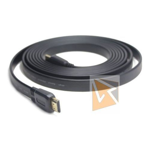 Gembird Kabel HDMI-HDMI v2.0 3D TV High Speed Ethernet 1.8M płaski (pozłacane końcówki) (8716309077651)