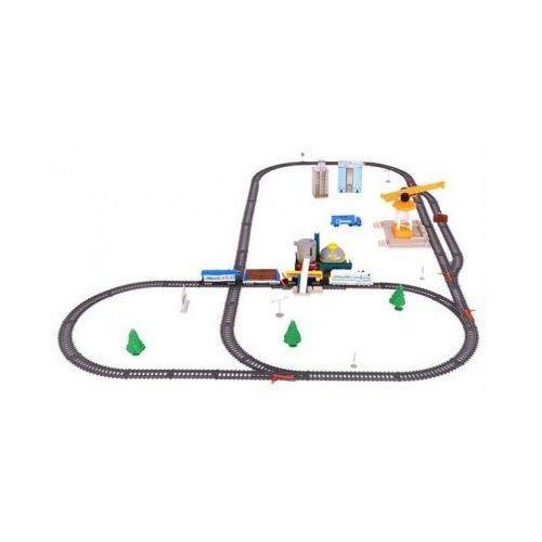 Ogromna Kolejka Elektryczna: Pociąg Towarowy + Dźwig Portowy + Kopalnia + Rafineria + Dekoracje+..., 59062124680