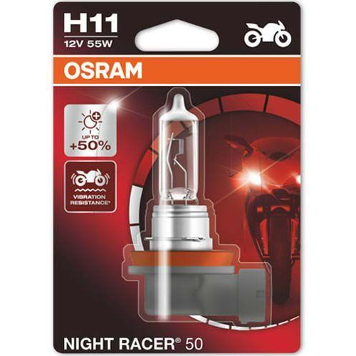 Żarówka do Motocykla Osram® H11 Night Racer® 50 | Blister 1 szt.