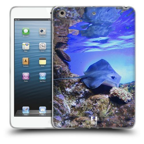 Etui silikonowe na tablet - famous animals swimming stingray on coral reef, marki Head case