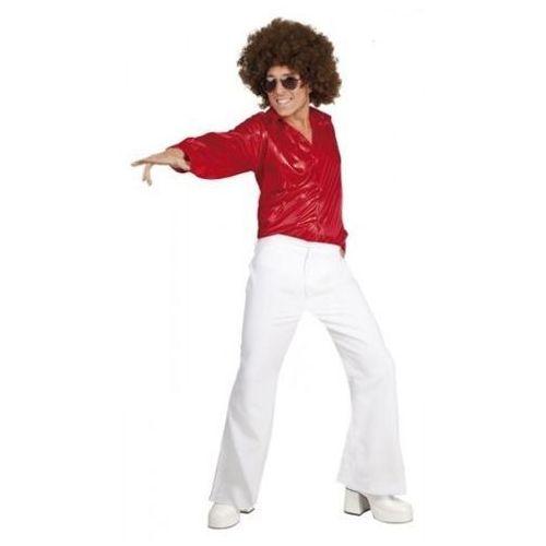 Koszula disco czerwona - m, l, xl - stroje/przebrania dla dorosłych, Aster