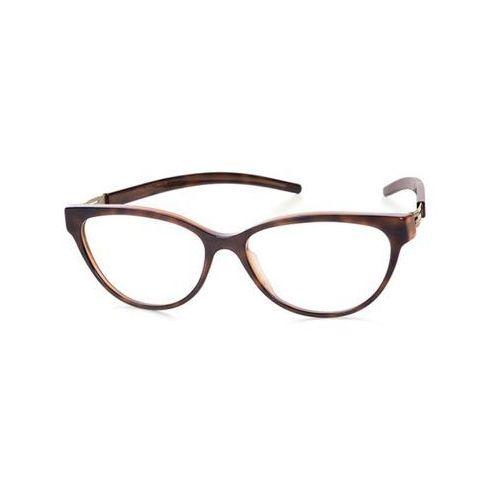 Ic! berlin Okulary korekcyjne a0632 anne k. tortoise shell washed