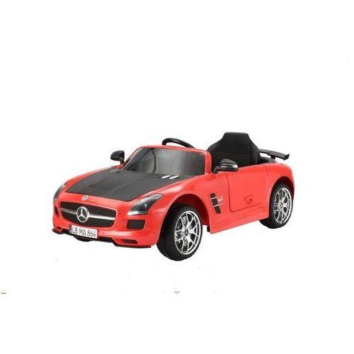 samochodzik dziecięcy - mercedes benz sls amg, czerwony marki Hecht