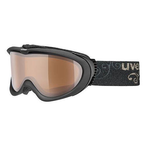 Gogle narciarskie  comanche pola z polaryzacją czarny marki Uvex