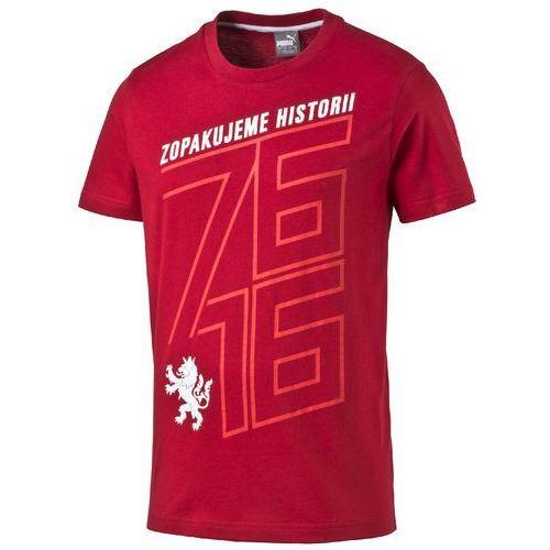 Puma koszulka Czech Republic 76 Fan Shirt chili pepper S (4056204384732)