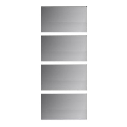 Panele do drzwi przesuwnych GoodHome Atomia 225 x 200 cm lustro 4 szt.