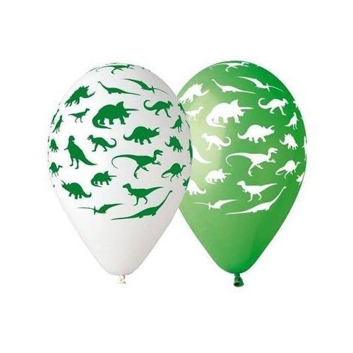 Balony Dinozaury - 5 sztuk