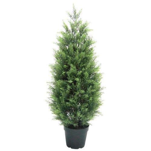 OKAZJA - Greentree Sztuczne drzewo cyprys 90 cm drzewko cyprysowe - cyprys 90 cm