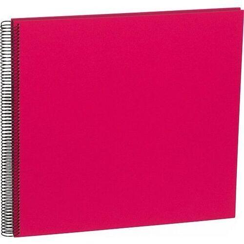 Semikolon Album na zdjęcia uni economy czarne karty duży różowy