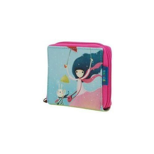 Mały portfel z suwakiem - Under My Umbrella (5018997410899)