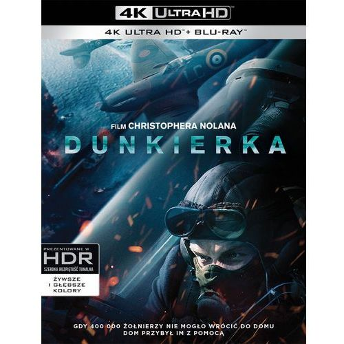 Galapagos Dunkierka (blu-ray 4k) - christopher nolan darmowa dostawa kiosk ruchu