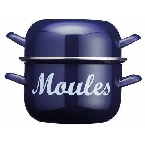 Garnek do gotowania i serwowania małży Kitchen Craft niebieski, WFMUSSBLU