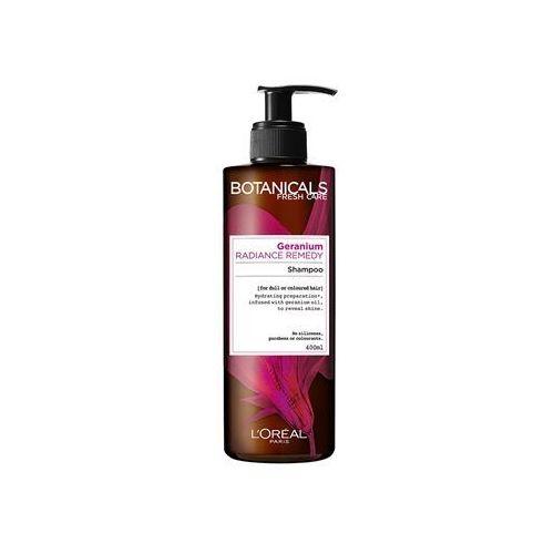radiance remedy szampon do włosów farbowanych geranium 400 ml marki Botanicals