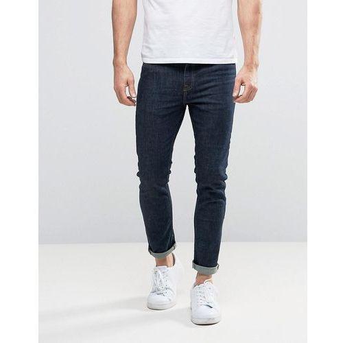 New Look Skinny Jeans In Navy - Navy, kolor szary