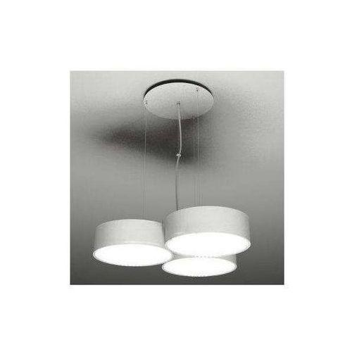 Żyrandol LAMPA wisząca ZAMA 5514/GX53/BI Shilo metalowa OPRAWA ZWIS nad stół okrągła biały, 514/GX53/BI