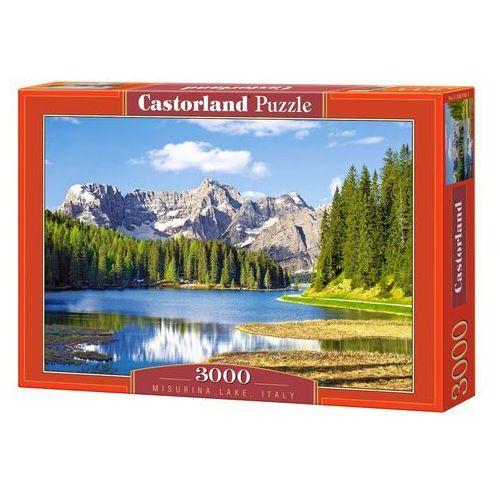Puzzle 3000 jezioro misurina - włochy castor marki Castorland