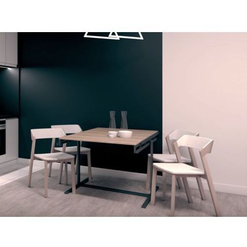 Industrialny stół z możliwością przekształcenia w regał marki Magic house