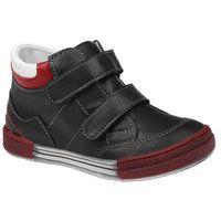 Kornecki Trzewiki nieocieplane buty 4666 czarne - czarny ||multikolor ||czerwony