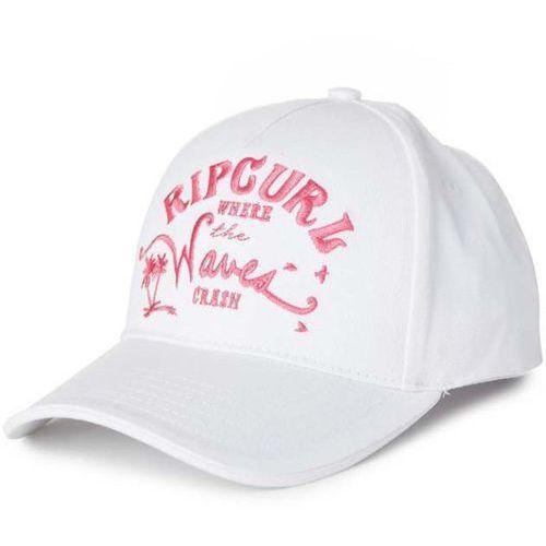 Czapka z daszkiem - waves snap tab cap egret (9487) rozmiar: os marki Rip curl