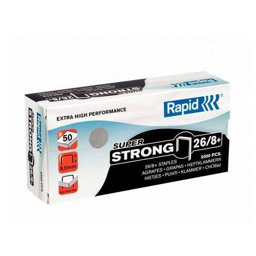 Rapid Zszywki super strong 26/8+, 5m - 24862200