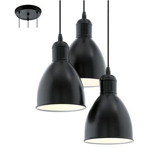 Eglo Lampa wisząca 3x60w priddy, 49465
