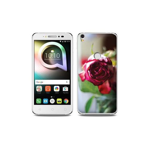 Alcatel Shine Lite - etui na telefon Foto Case - pączek róży, ETAL431FOTOFT043000