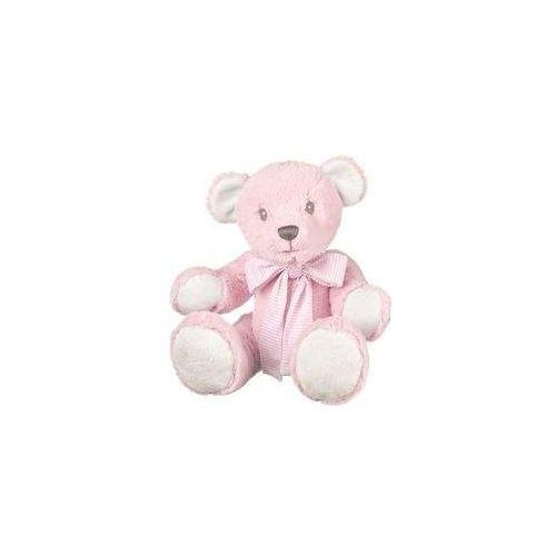 Suki Miś różowy z kokardą hug-a-boo 43 cm