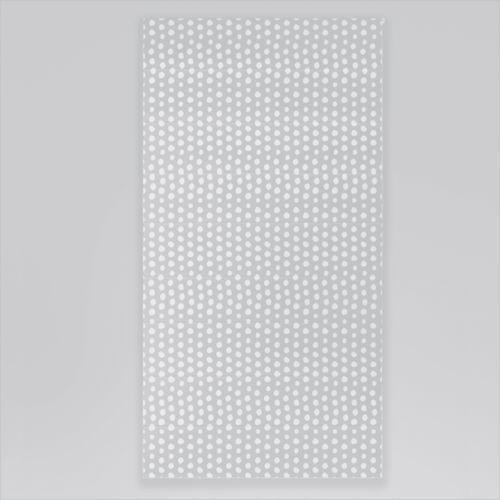 Roleta rzymska okienna na wymiar - WHITE DOTS & GREY BACKGROUND