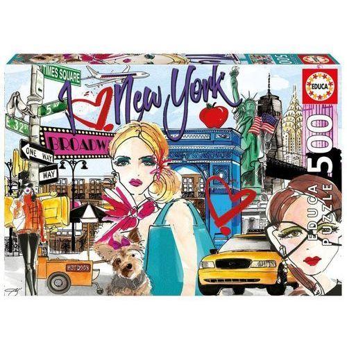 Puzzle 500 elementów, Zabierz mnie do Nowego Jorku - DARMOWA DOSTAWA OD 199 ZŁ!!!