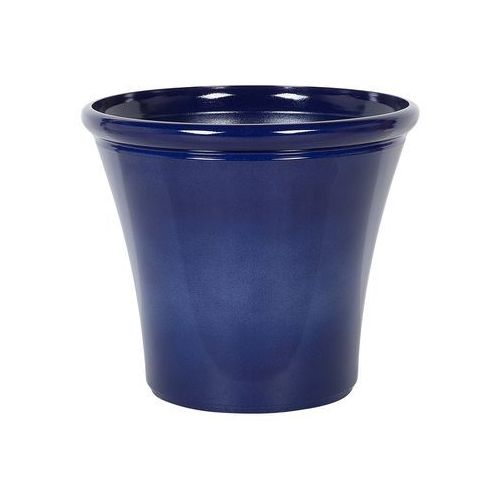 Doniczka ciemnoniebieska ⌀55 cm kokkino marki Beliani