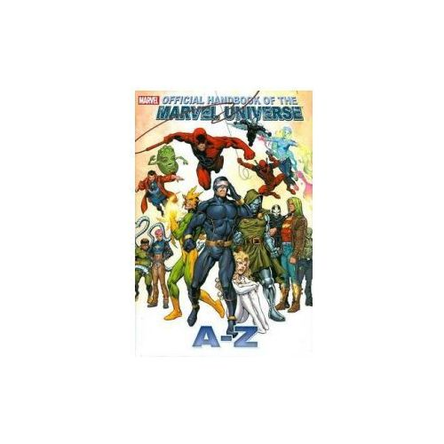 All New Official Handbook of the Marvel Universe A to Z