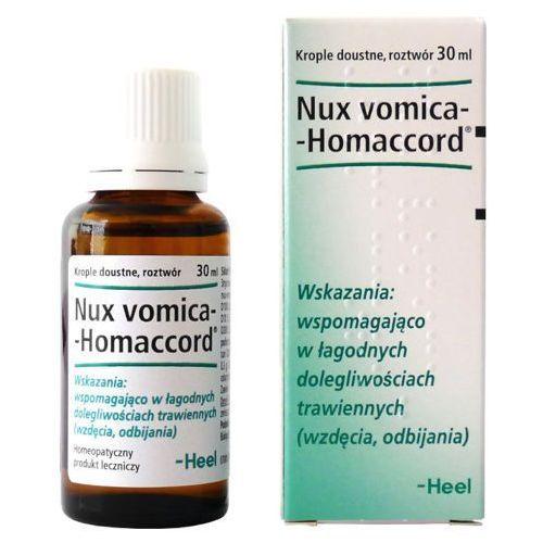 Heel gmbh Nux-vomica homaccord krople 30ml