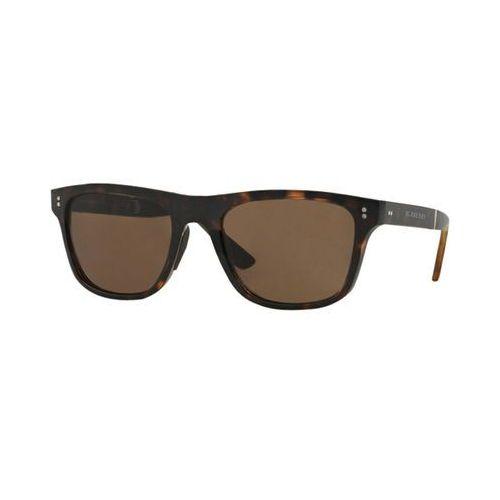 Okulary Słoneczne Burberry BE4204 Folding Travel Tailoring 30025W, kolor żółty