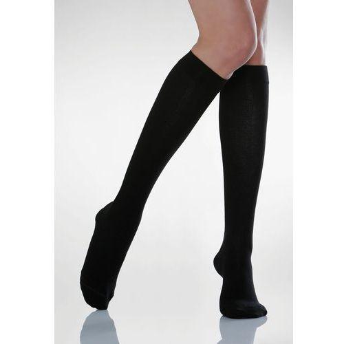 Podkolanówki uciskowe męskie Cotton Socks 820: kolor - czarny, rozmiar - 5
