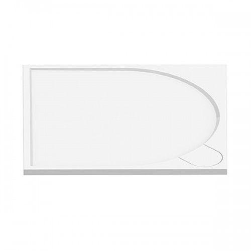 NEW TRENDY FLUO Brodzik kwadratowy 90x90x3, konglomerat B-0352 * wysyłka gratis!, B-0352