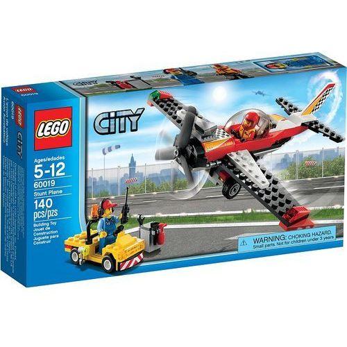 Lego CITY Samolot kaskaderski 60019. Najniższe ceny, najlepsze promocje w sklepach, opinie.