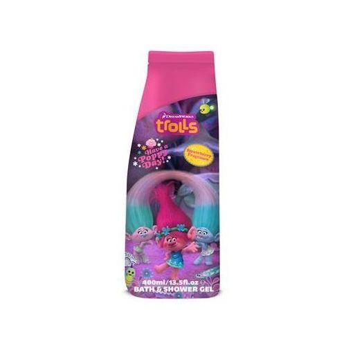 Trolls bath & shower gel żel pod prysznic i płyn do kąpieli raspberry 400ml marki Corsair